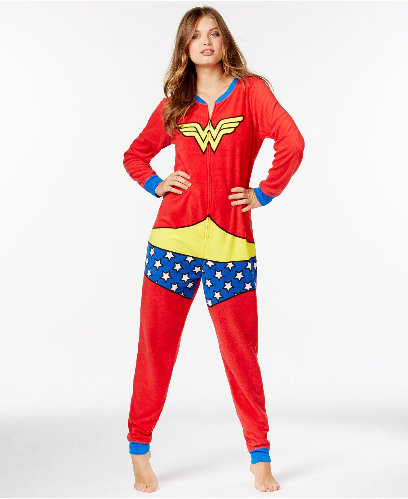ec0b1934225f Wonder Woman Adult Onesie - Shop All Pajamas   Robes - Women - Macy s