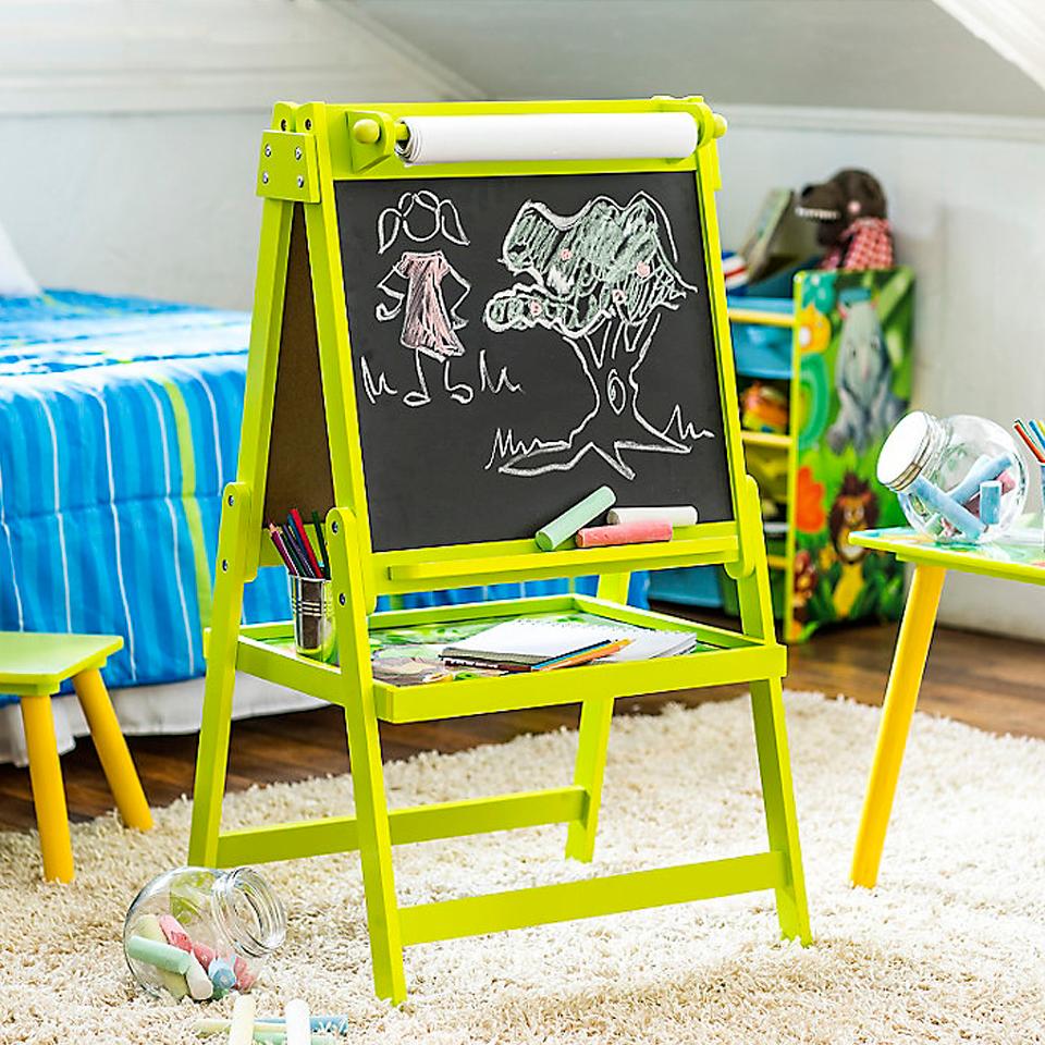 Home Kids Pizarra Infantil Selva El Abecedario Pizarra Y Abecedario # Muebles Pizarra