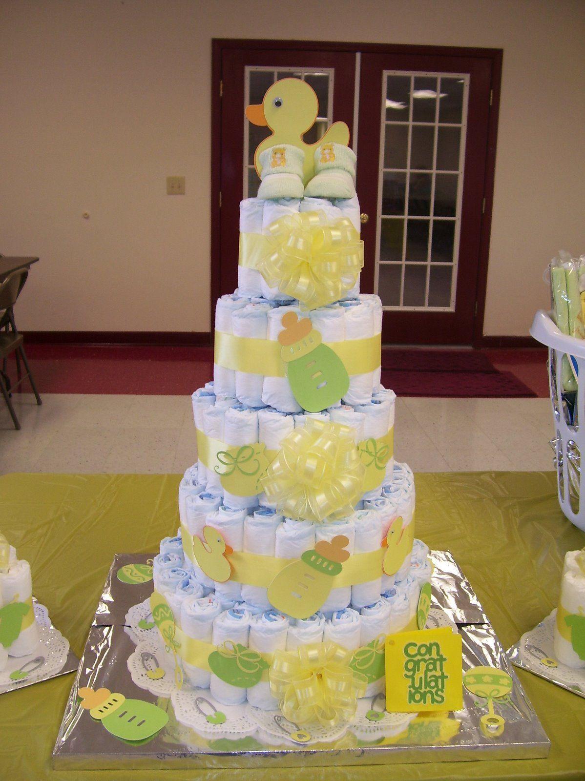 Cricut diaper cake diaper cake diy baby shower gifts