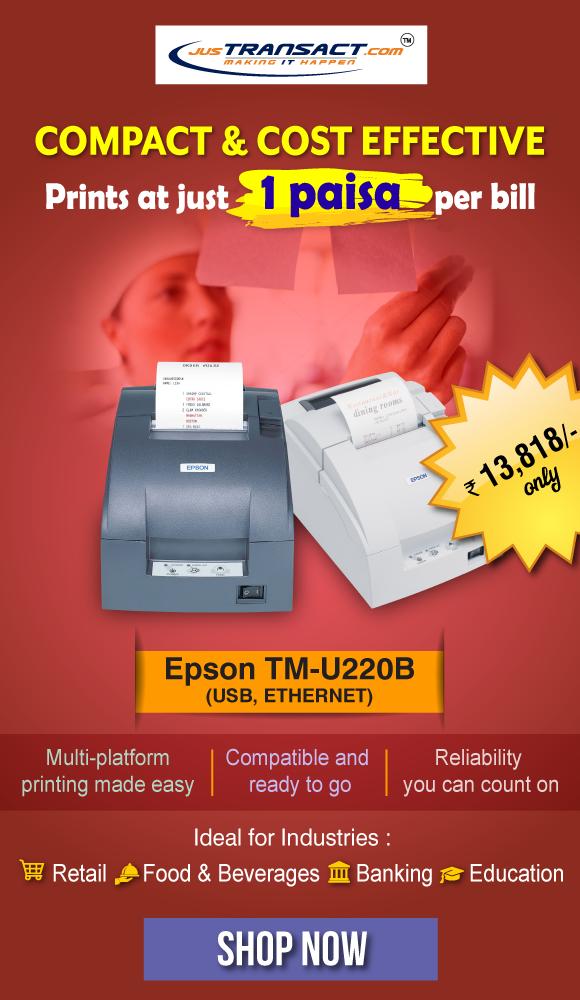 Epson TM-U220B (USB, ETHERNET) Impact Printer in 2019