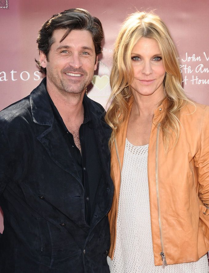 Patrick Dempsey Wearing Wedding Ring Weeks After Jillian Fink Files