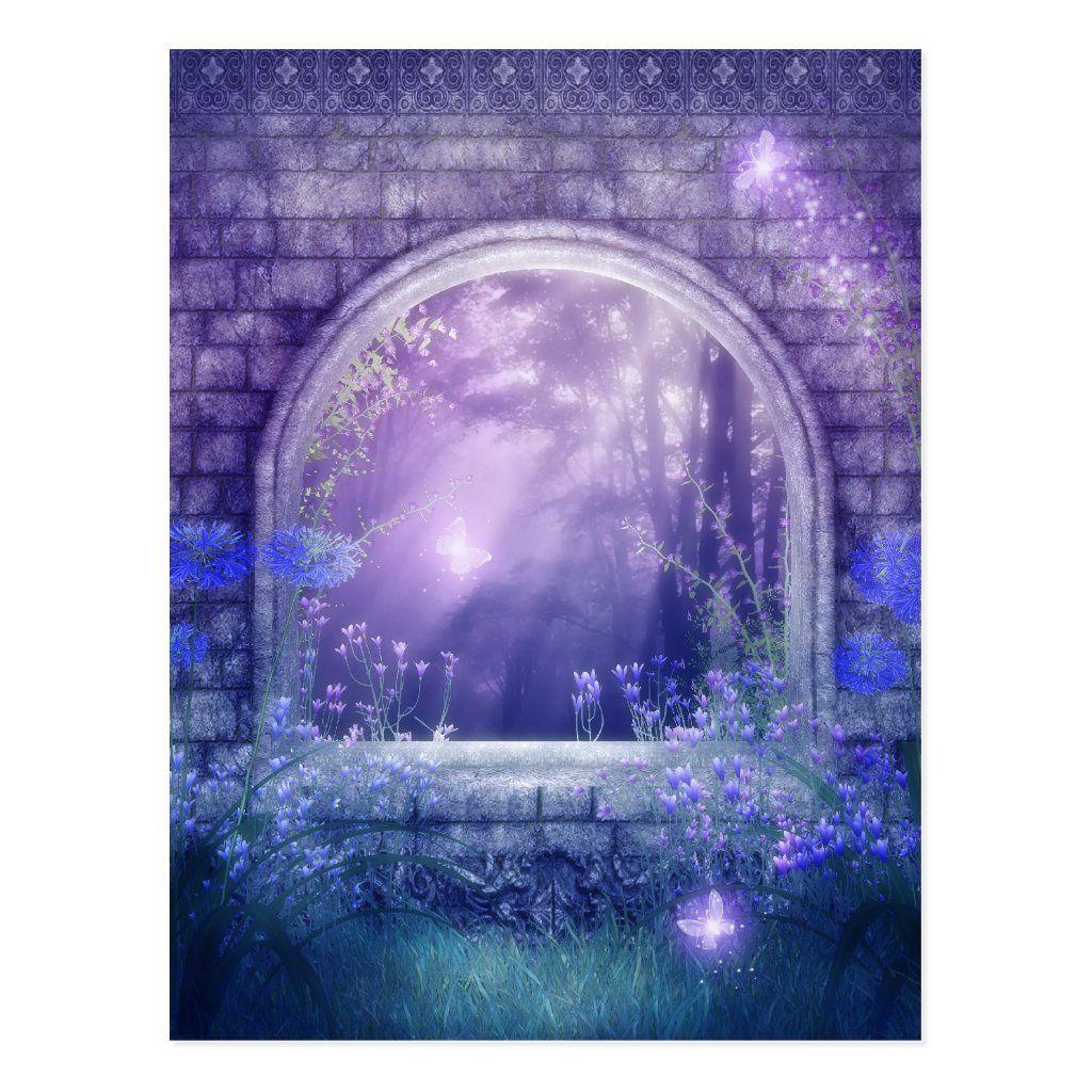 Charmed Woodlands Postcard