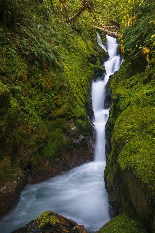 Panther Creek Falls, Washington   Waterfall adventure