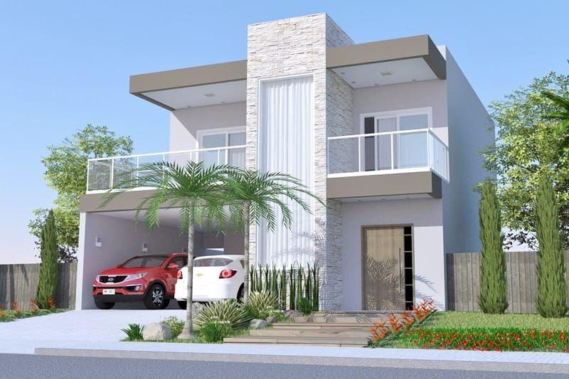 Plano De Casa Con Piscina Y Terraza Planos De Casas