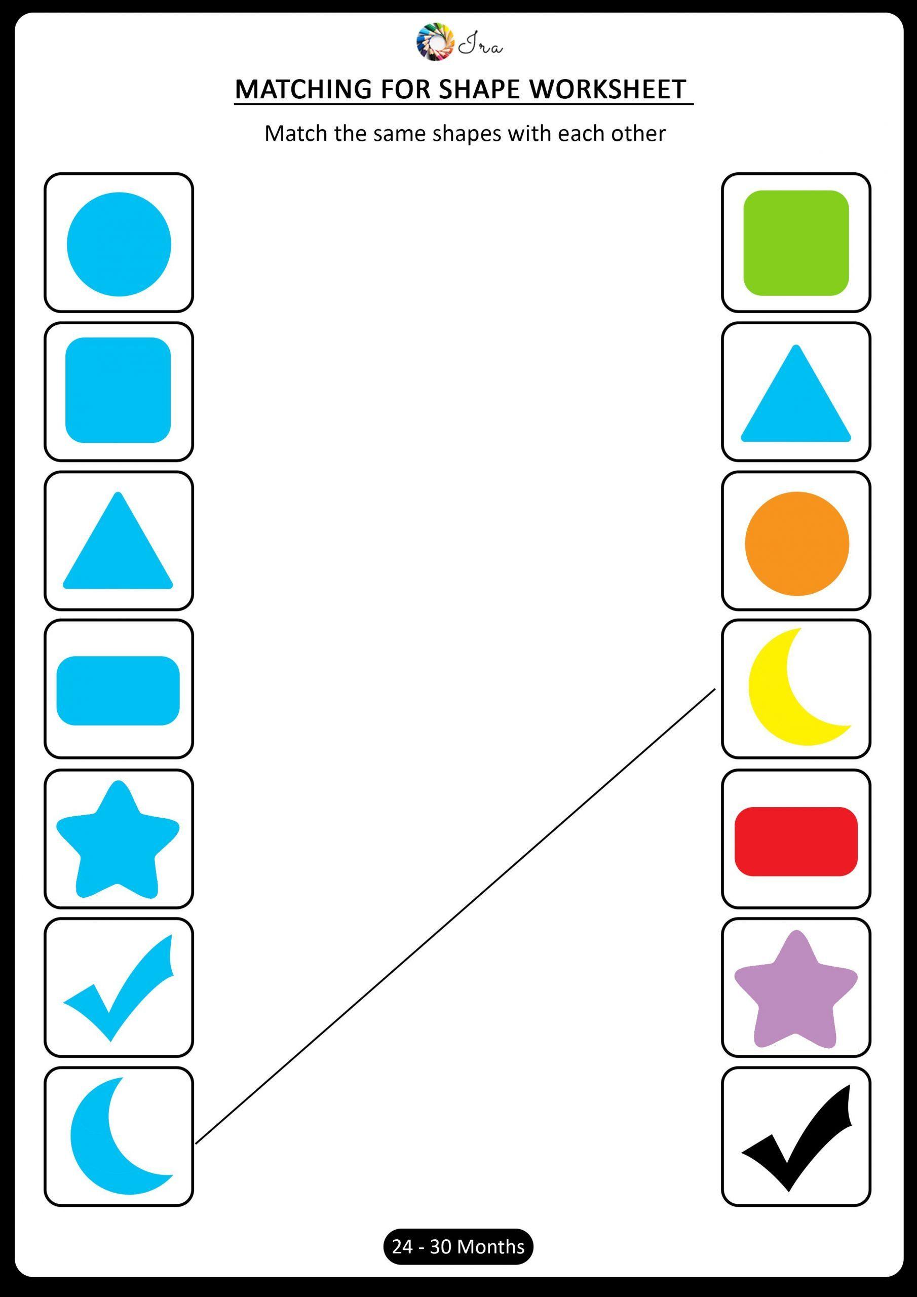 10 Preschool Matching Worksheets Readersreviewchallenge