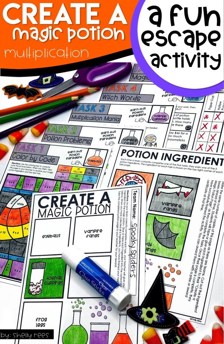 A halloween escape room for kids that is easy to set up
