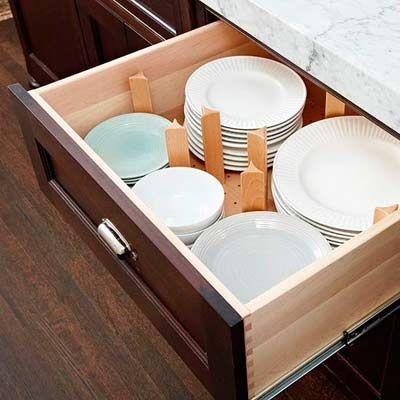 40 buenas ideas para organizar y ordenar la cocina | Pinterest ...