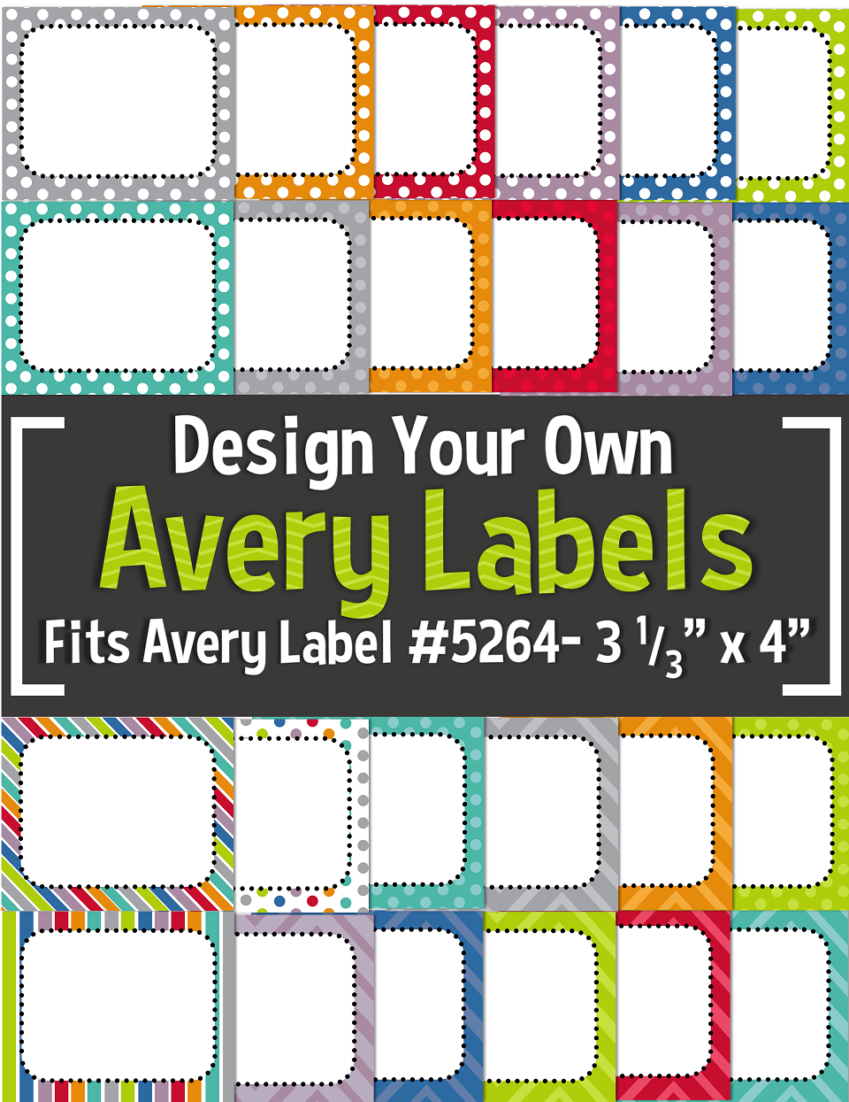 editable avery labels 5264 3 1 3 x 4 tpt resources for your