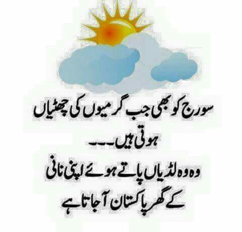 Summer Jokes Funny Quotes In Urdu Funny Quotes Summer Jokes