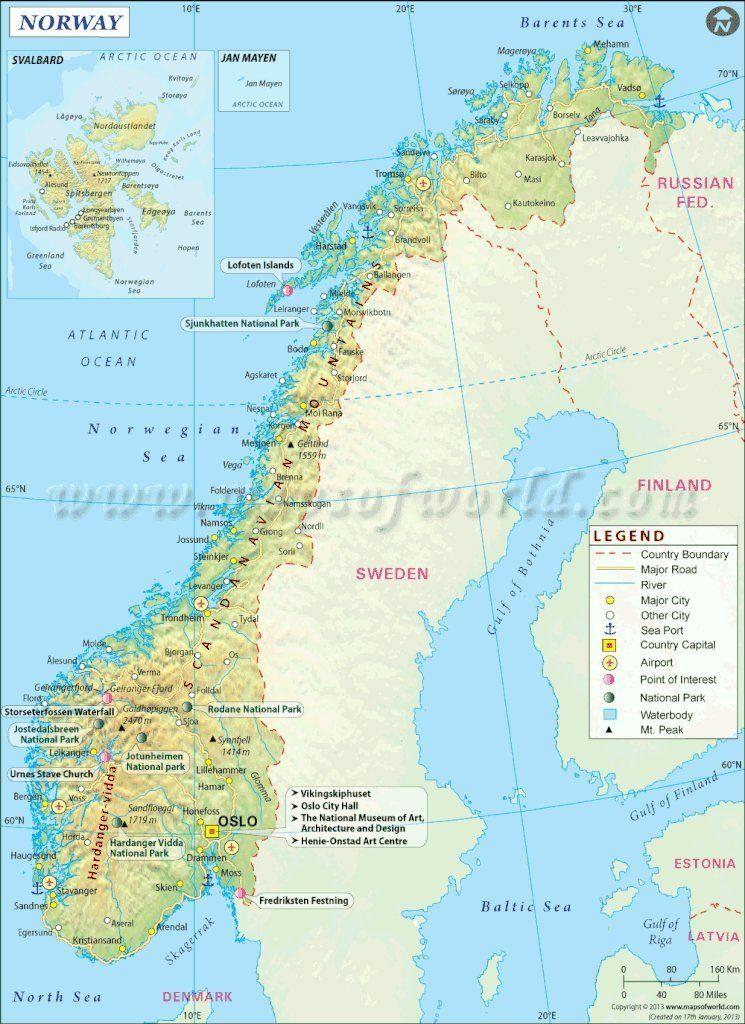 38++ Scandinavian maps info