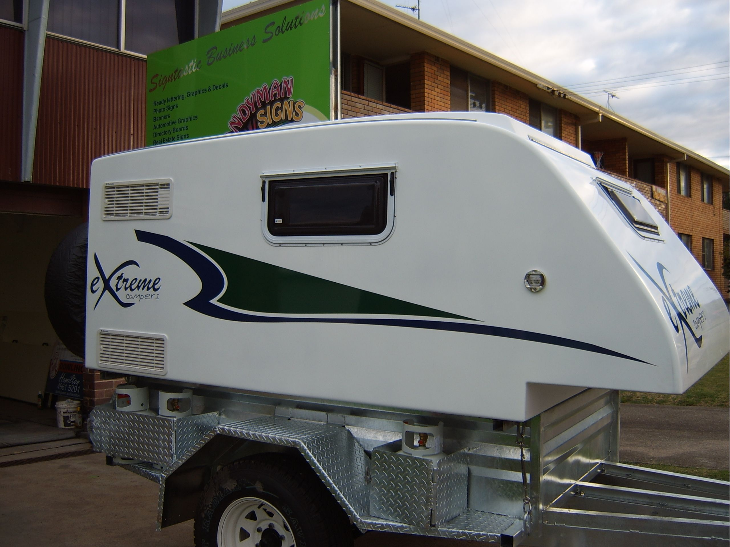 This Would Be A Good Trailer For The Pop Up Truck Camper Haul The