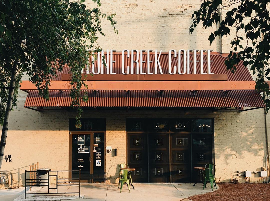 Stone Creek Coffee On Instagram Labor Day Hours Stone Creek Will Be Open For All Of Your Get Caffeinated Needs Tomorrow Mos Stone Creek Cafe Coffee Branding