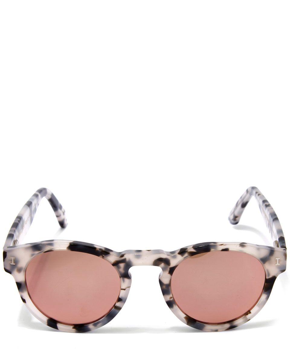d85cc03812b Illesteva Rose Gold Leonard Sunglasses
