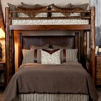 Alder Twin Over Queen For The Home Bunk Beds Bunk Bed
