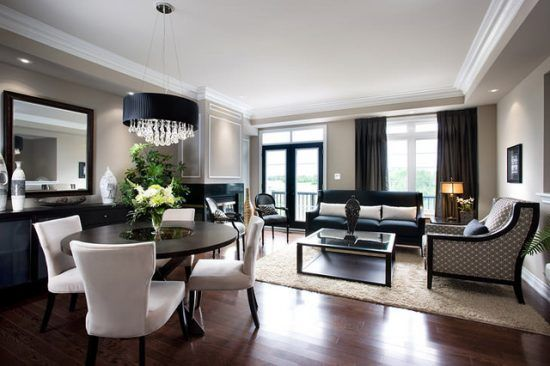 How to Perfectly Decorate a Living Room - Dining Room Combo! home
