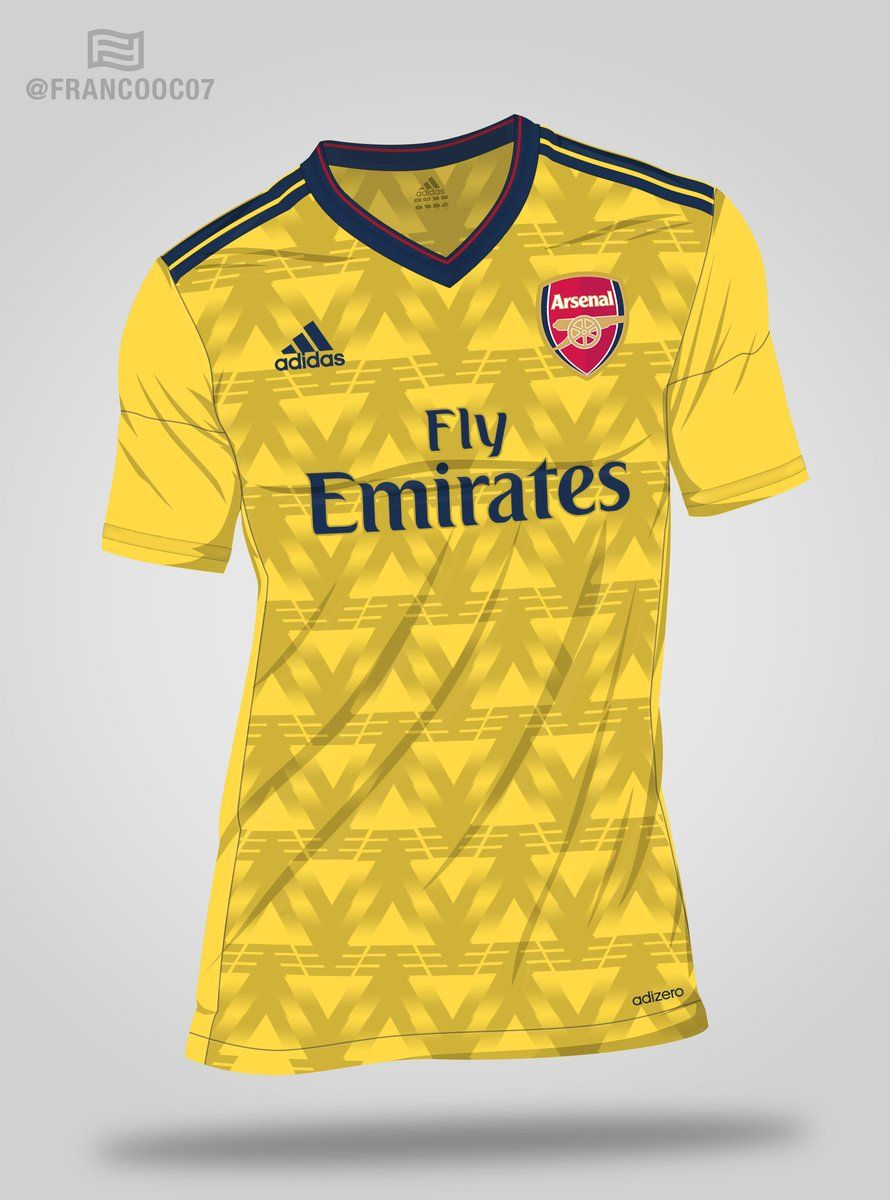 premium selection b44f5 6f42a Idea for Adidas Arsenal away kit for 2019-20 | BigSoccer Forum