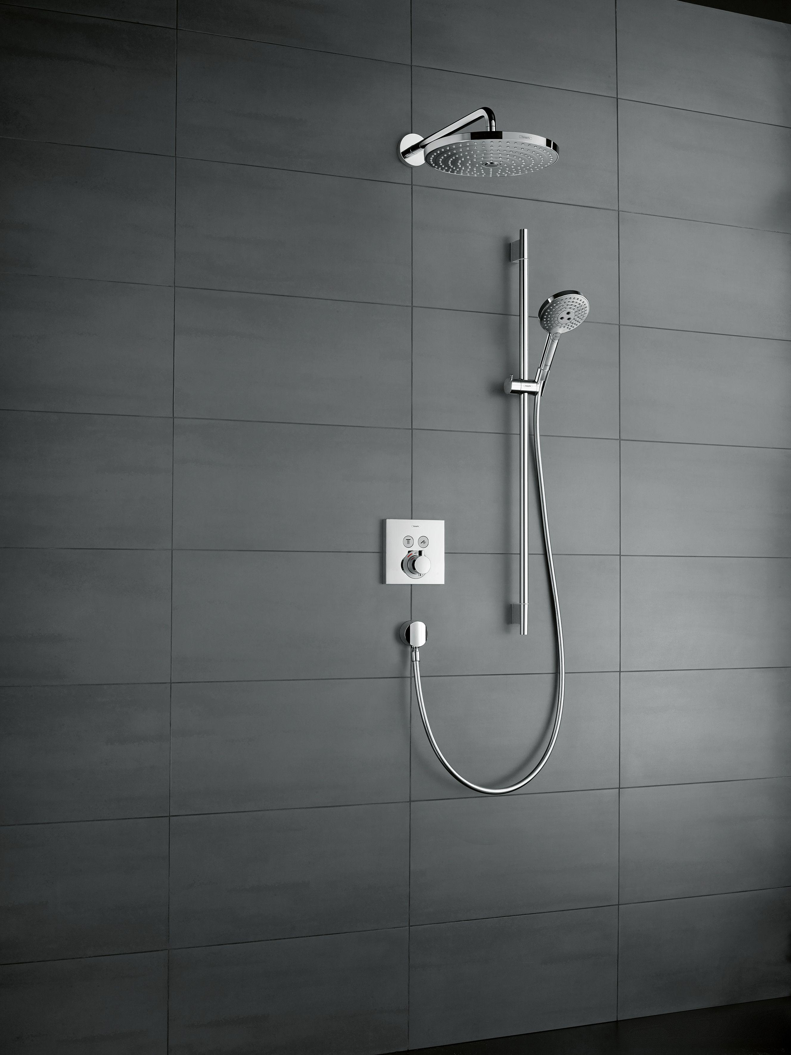 Miscelatore termostatico per doccia ECOSTAT I-BOX by HANSGROHE ...