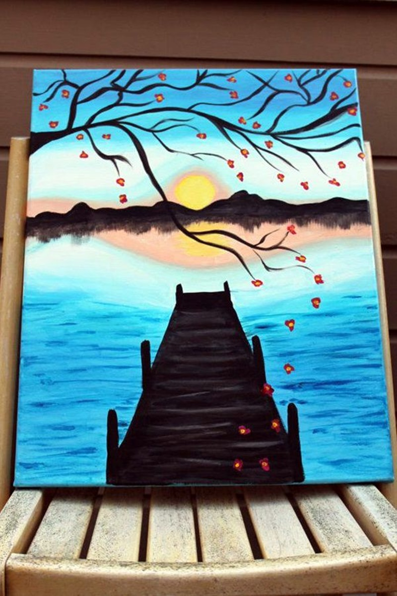 55 Mind Blowing Canvas Painting Ideas For Beginner To Pro In 2020