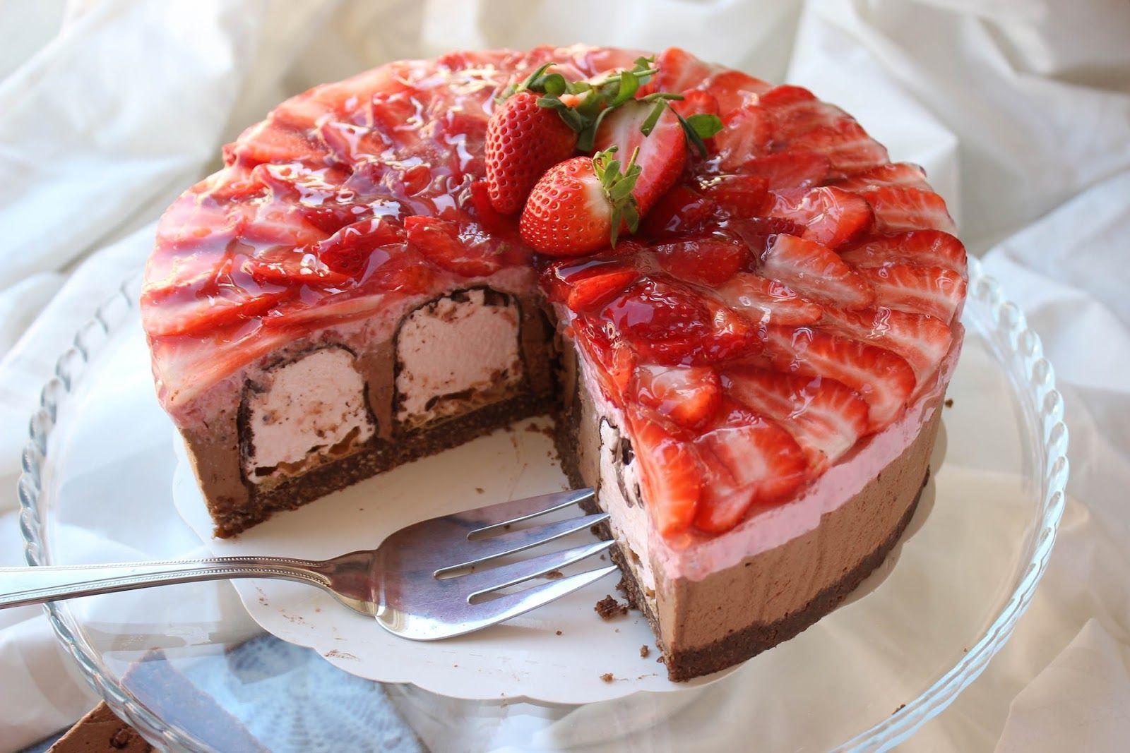 Kiss cake | Suukkokakku | Kulinaari
