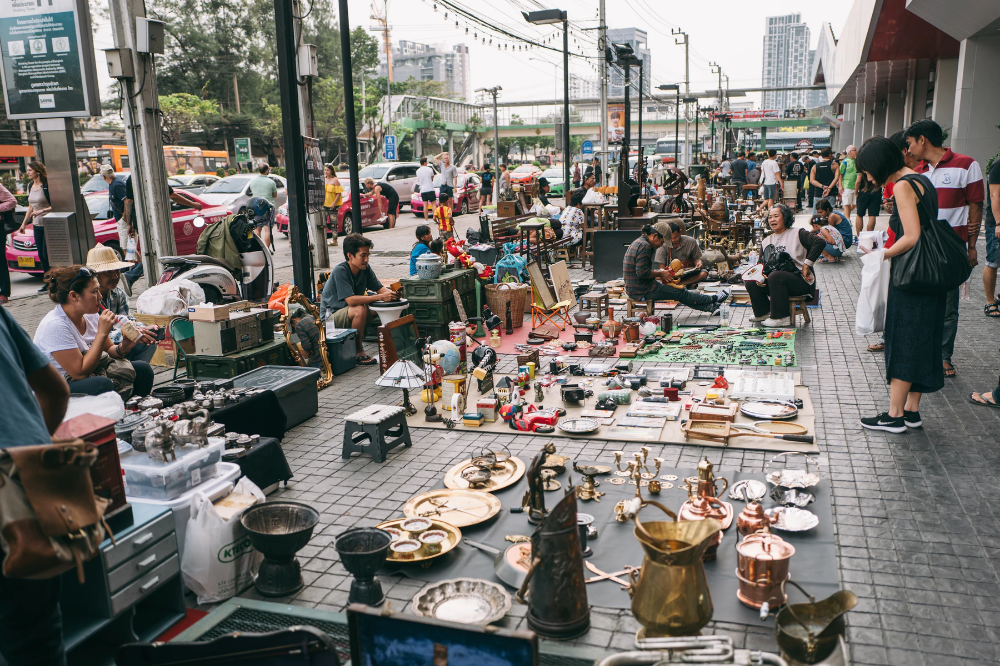 Chatuchak Playground Antique Flea Market Bangkok Changi Us Travel