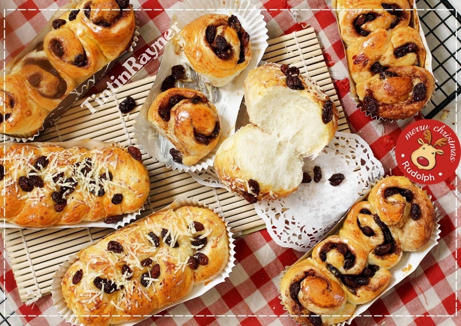 Resep Cinnamon Roll Lembutt Roti Kismis Serat Halus 1 Telur Aja Oleh Tintin Rayner Resep Roti Cinnamon Roll Roti Kismis Cinnamon Roll