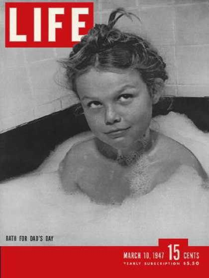 37e590794 1947 March Mar 10 LIFE Magazine Fathers Day -