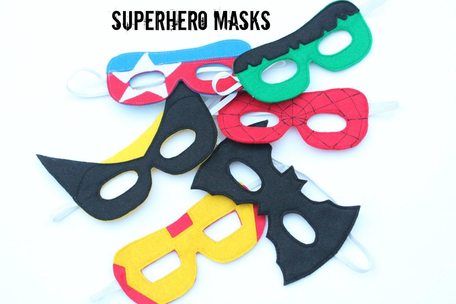 Superhero Masks With Images