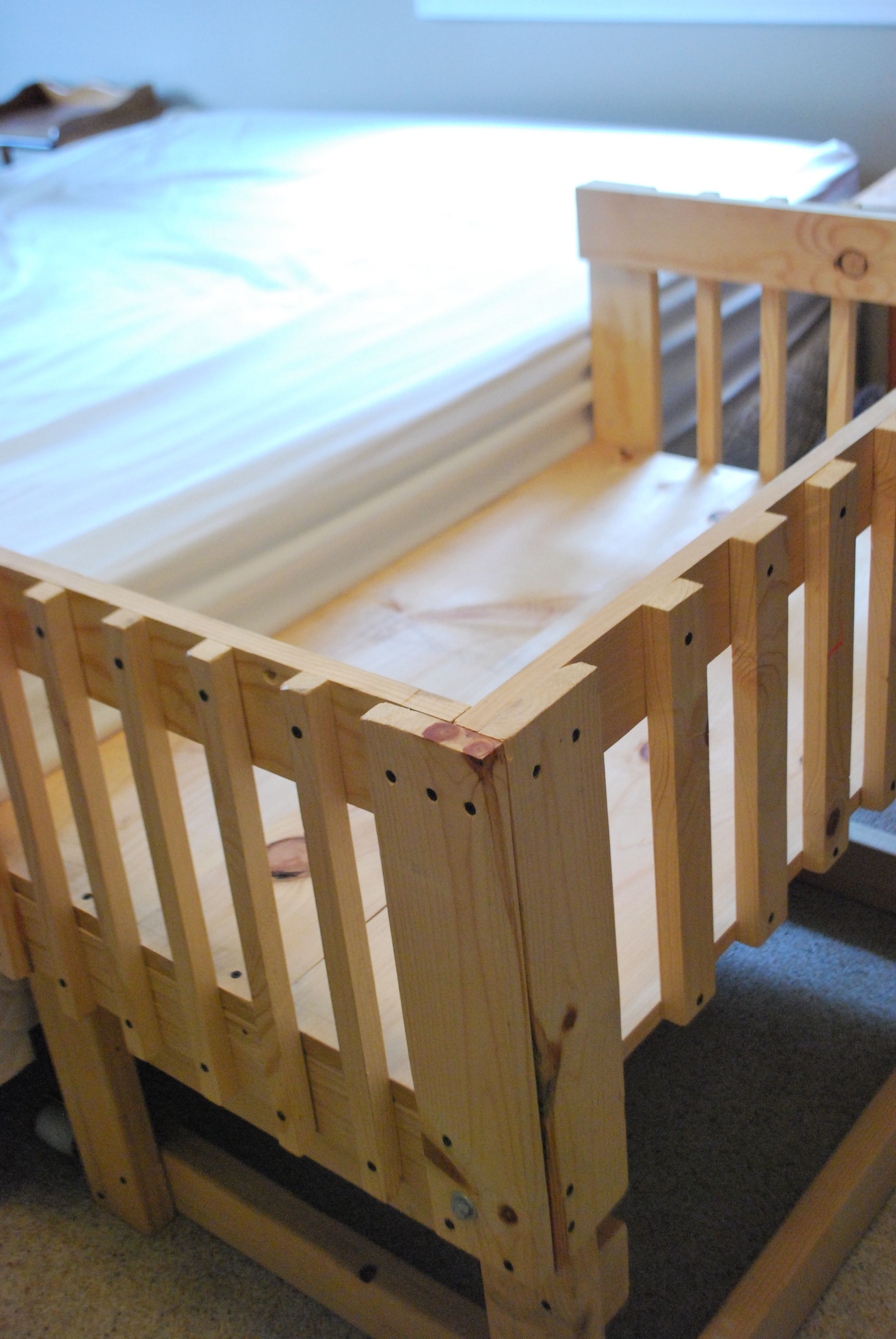 Baby Crib Made From Pallets Easy Craft Ideas