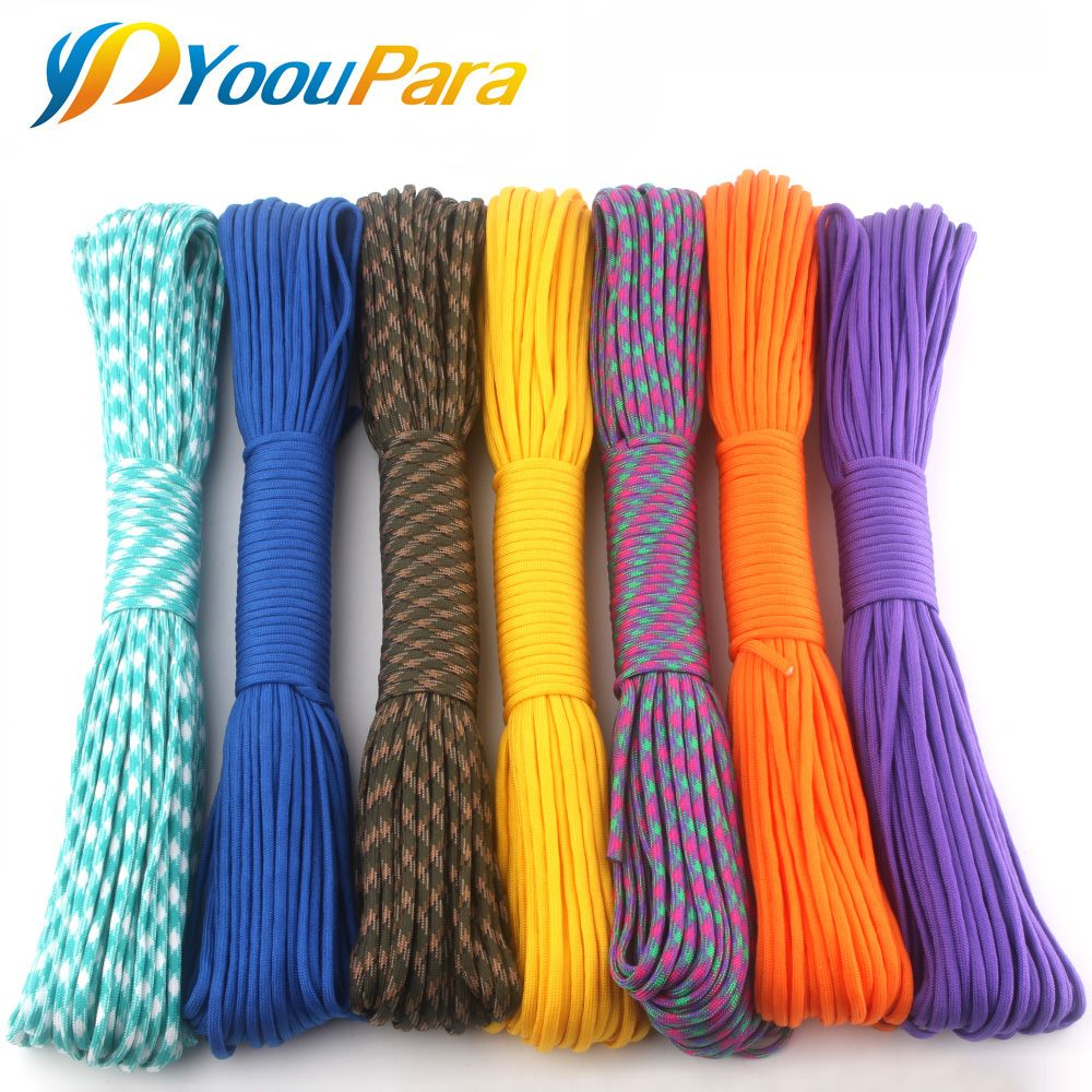 230 Kleuren Paracord 550 100ft 50ft Paracord Touw Mil Spec Type