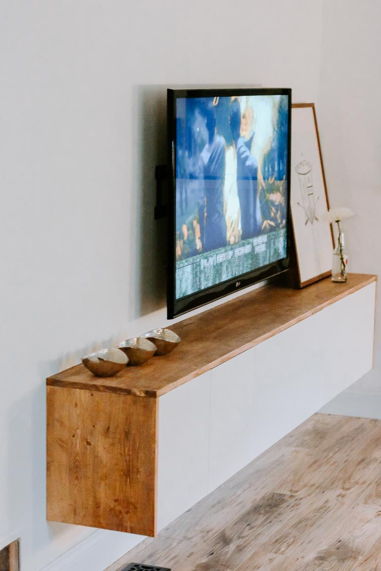 Photo of DIY Floating Sideboard Tutorial – Petite Modern Life