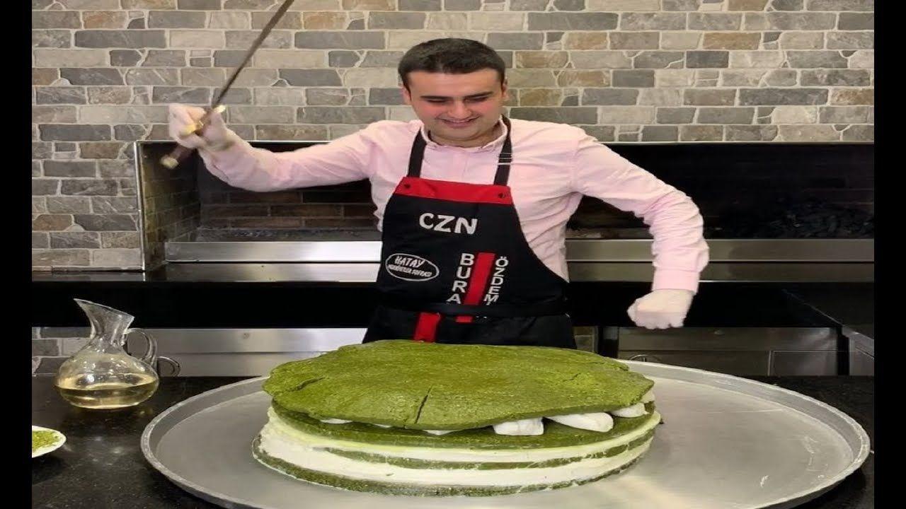 الشيف بوراك كيك آيس كريم بالفستق الحلبي و كريب الشوكولاته العملاق Chef Burak Delicious Desserts In 2021 Food Cooking Lebanese Recipes