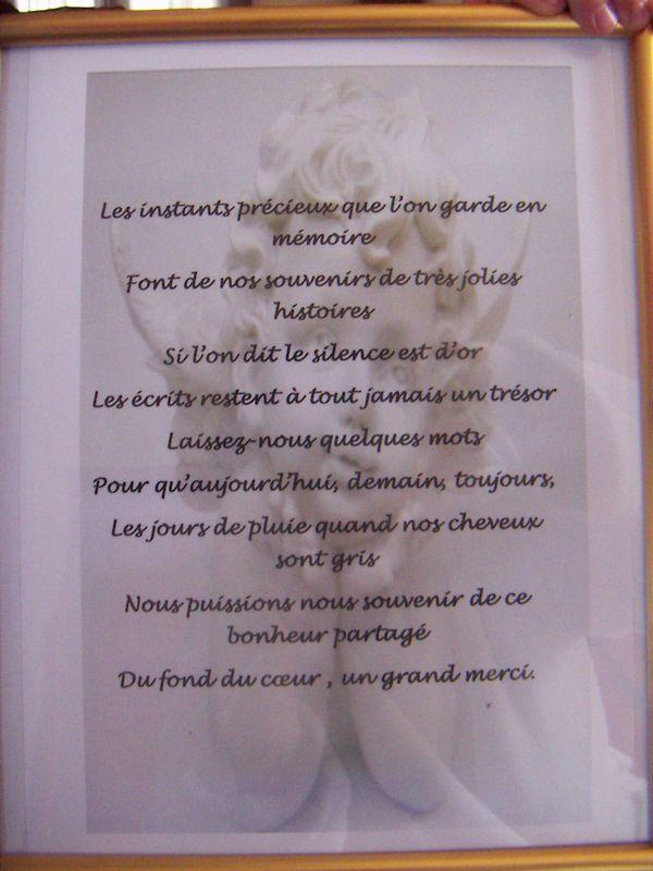 Mot Pour Livre D Or Mariage