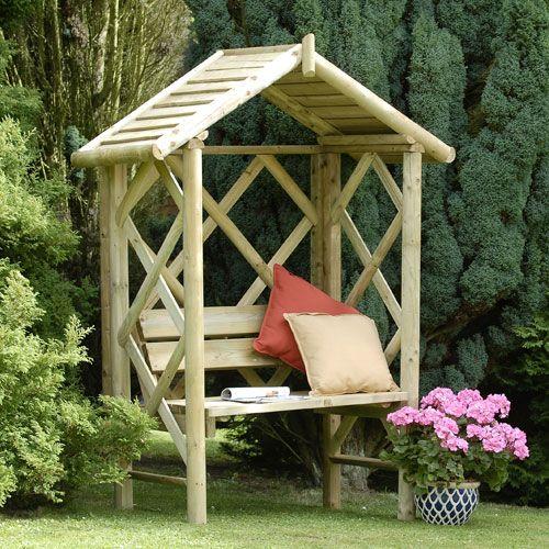 Cottage Haven Garden Arbor Garden Arbour Seat Garden Spaces