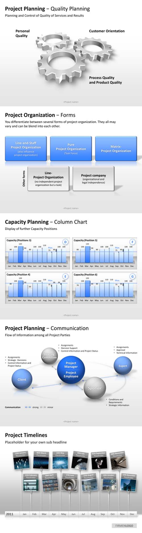 you need project timelines or quality planning templates no problem