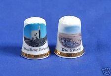 Dartmoor Letterboxing 2006-07 Bone China Thimbles