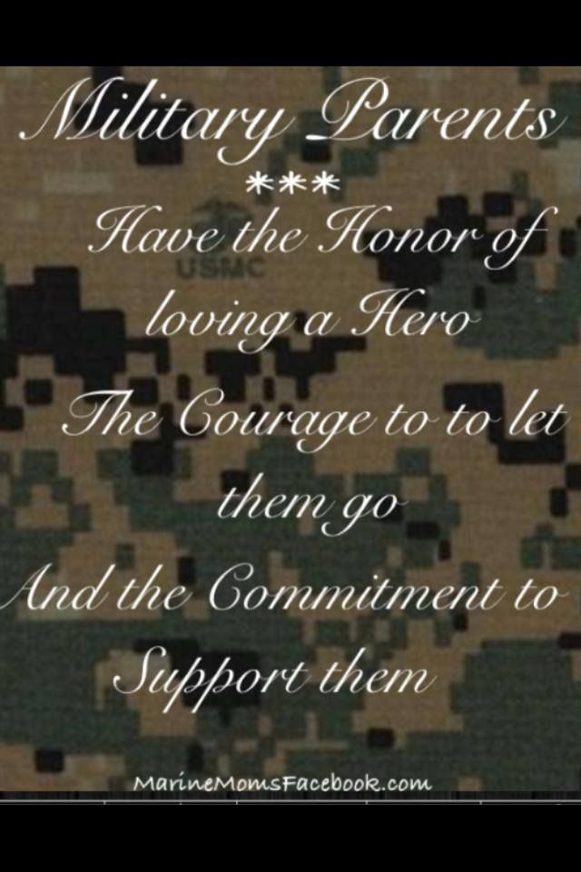 Military Parents Have Honor Courage And Commitment Go Navy