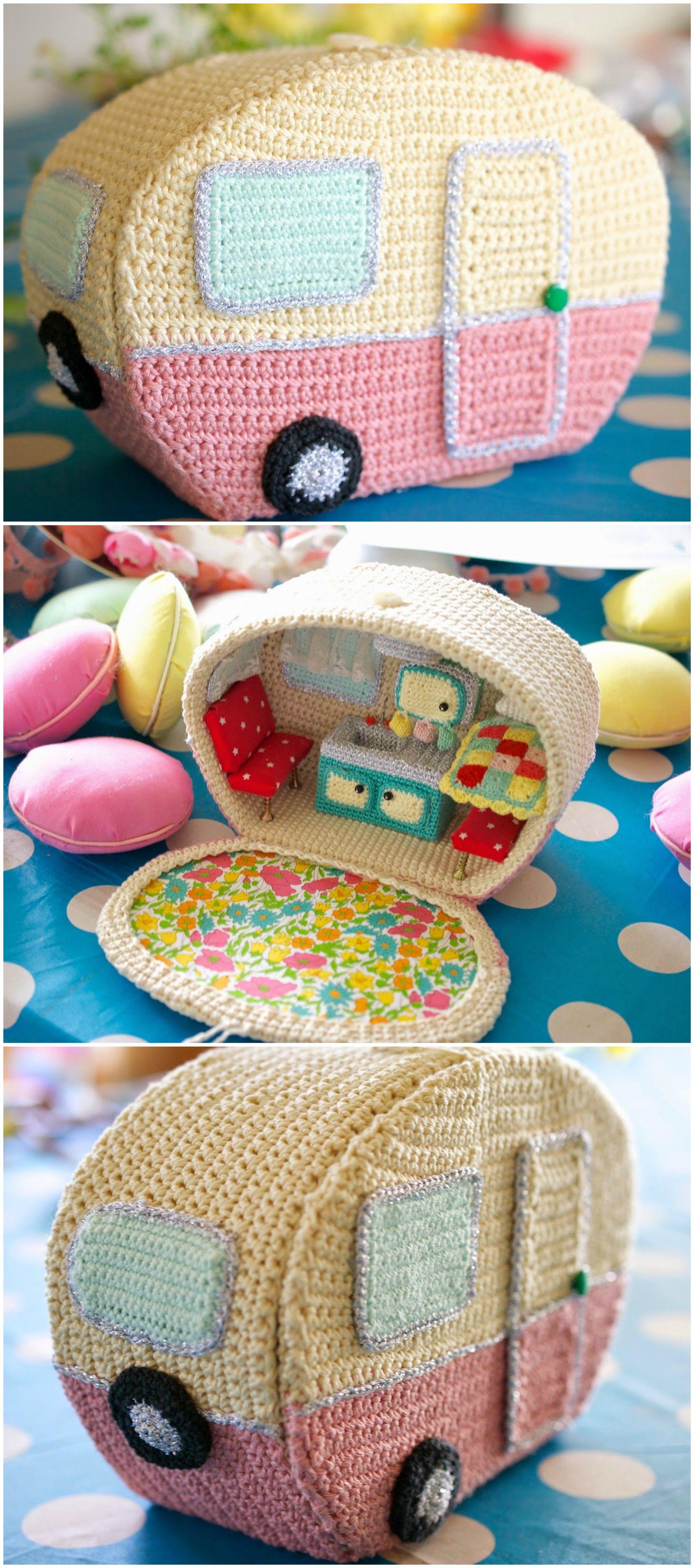 Amazing Vitange Caravan | Everything Crochet | Pinterest | Häkeln ...
