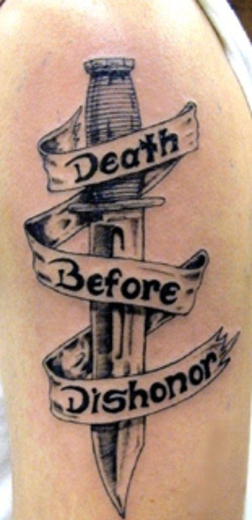 Shoulder Army Tattoos Death Tattoo Dishonored Tattoo