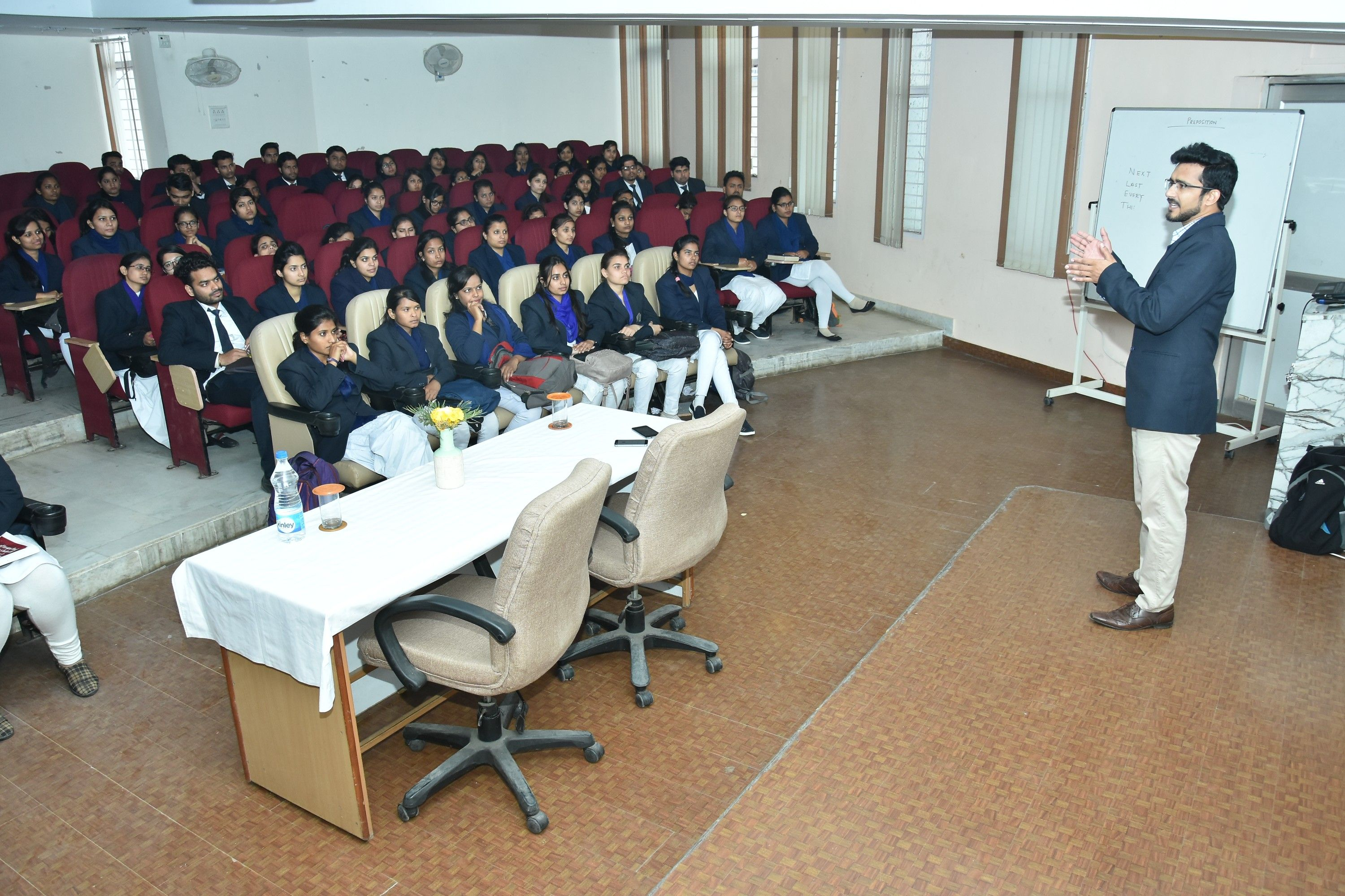 Guest Lecture by Mr  Gaurav Singh (Corporate Lead for HR