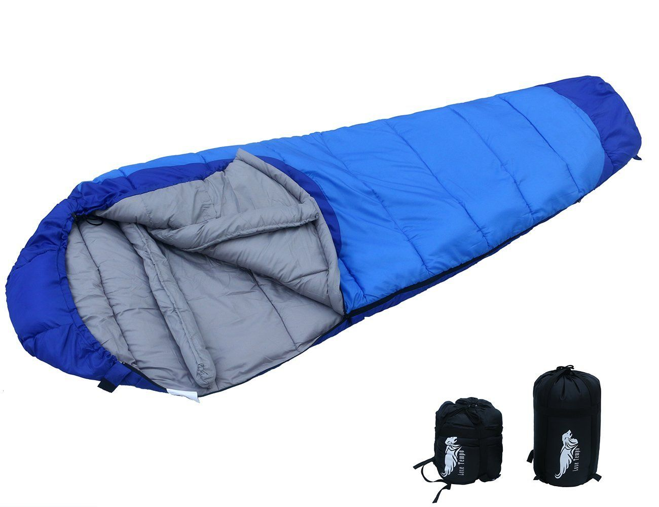 Luxe Tempo Compressible Hooded Mummy Sleeping Bag