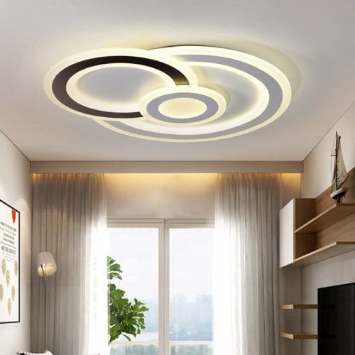 Modern Minimalist Led Ceiling Light Shaped Ultra Thin Living Room Lamp Sale Price Reviews Ceiling Design Living Room Simple False Ceiling Design Ceiling Lights Living Room