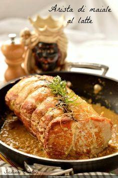Photo of Arista di maiale al latte e rosmarino con patate