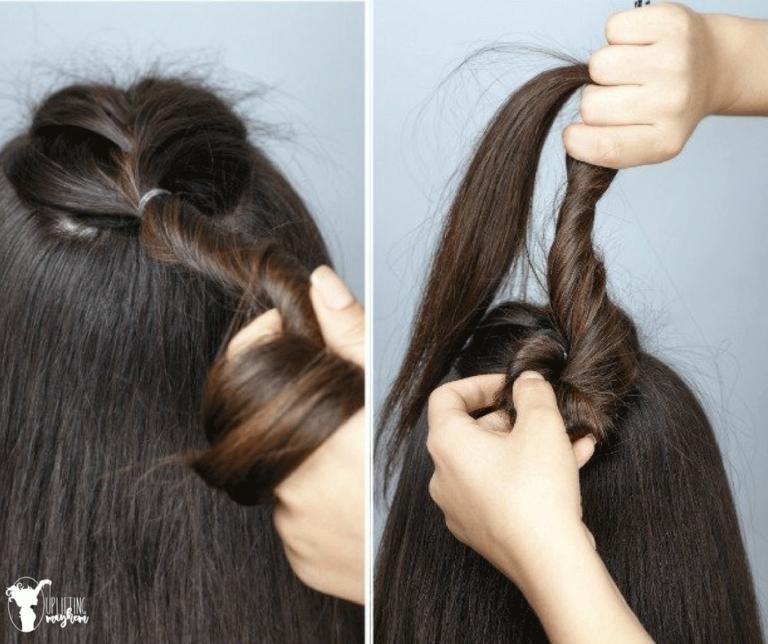 Easy Half Braid Hairstyle Tutorial Video Hairstyle Tutorial In 2020 Braided Hairstyles Tutorials Braided Hairstyles Braided Hairstyles Tutorials Easy