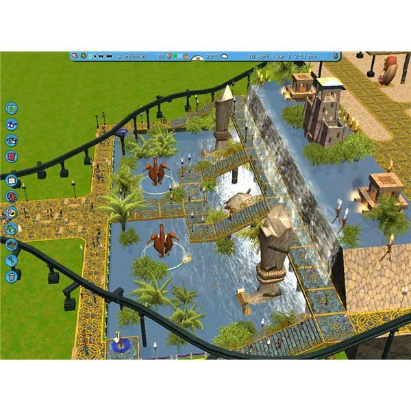 Released back in 2004, RollerCoaster Tycoon 3 is the latest