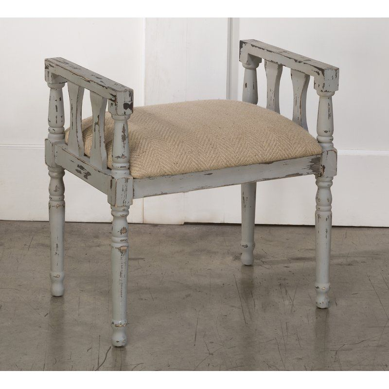 Ophelia Co Wightman French Country Style Vanity Stool Wayfair French Country Style Country House Decor Country Style Homes