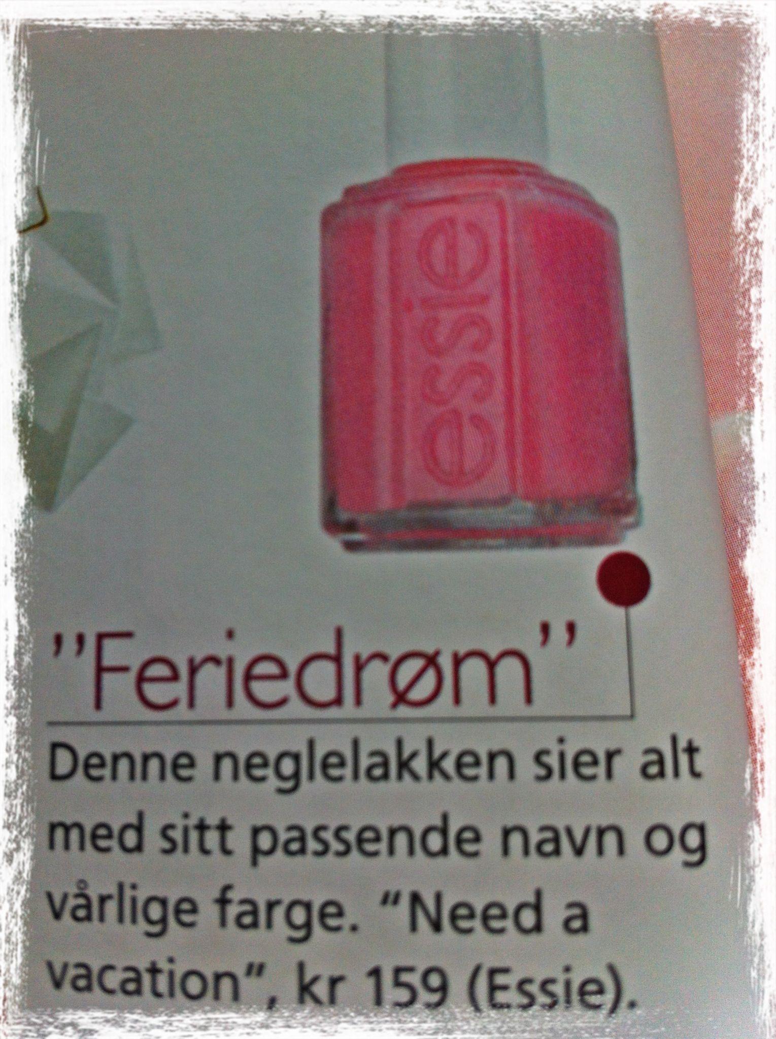 """Feriedrøm"""