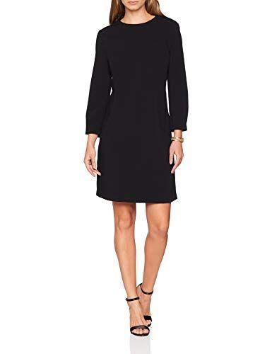 500f620ce7 United Colors of Benetton Dress Vestito Donna Nero (Black 100) Large ...