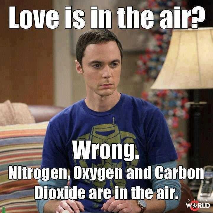Birds do it, bees do it, Sheldon NOT do it!