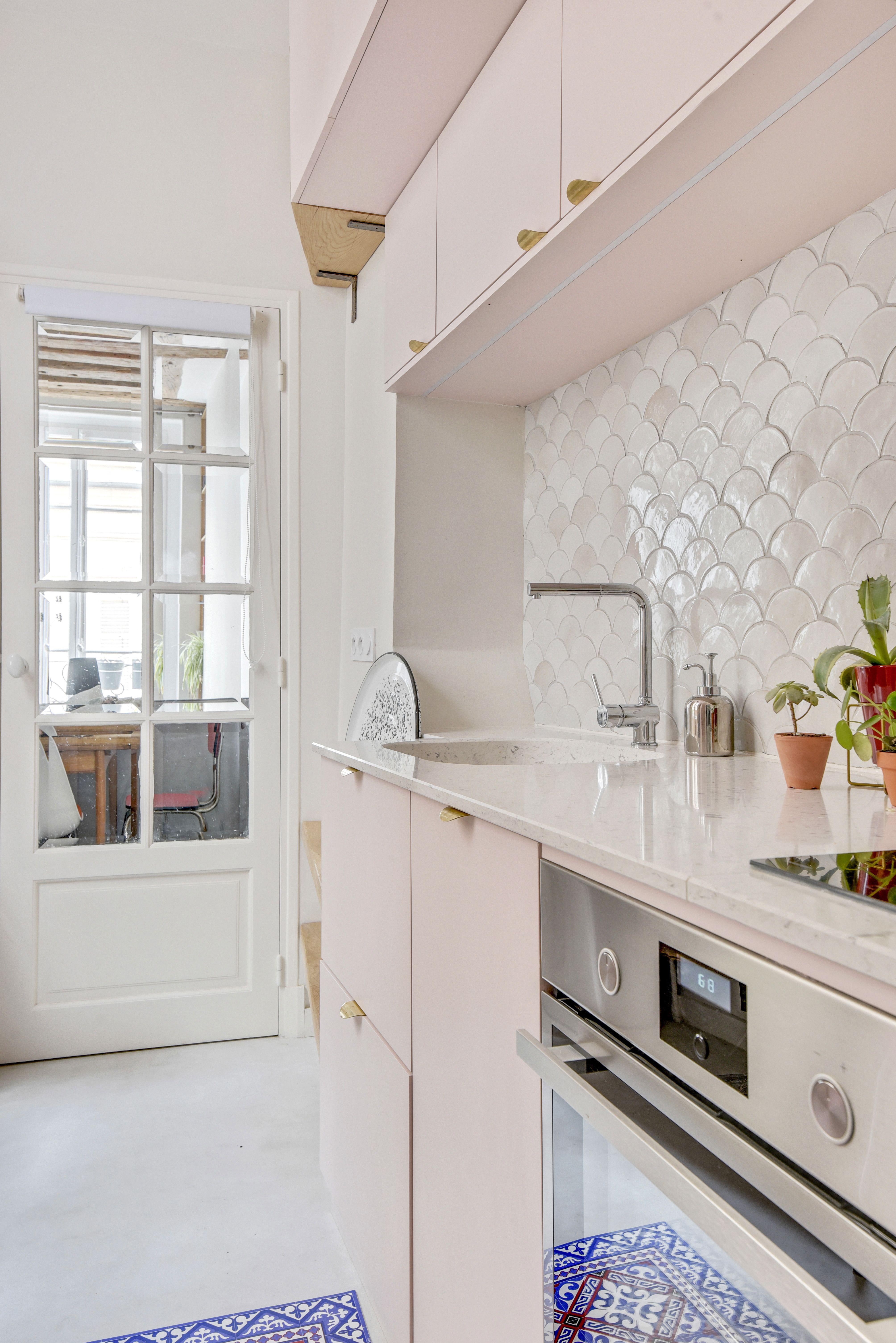 Cuisine De L Appartement Zellige Meuble Cuisine Decoration Appartement Moderne Architecte Interieur