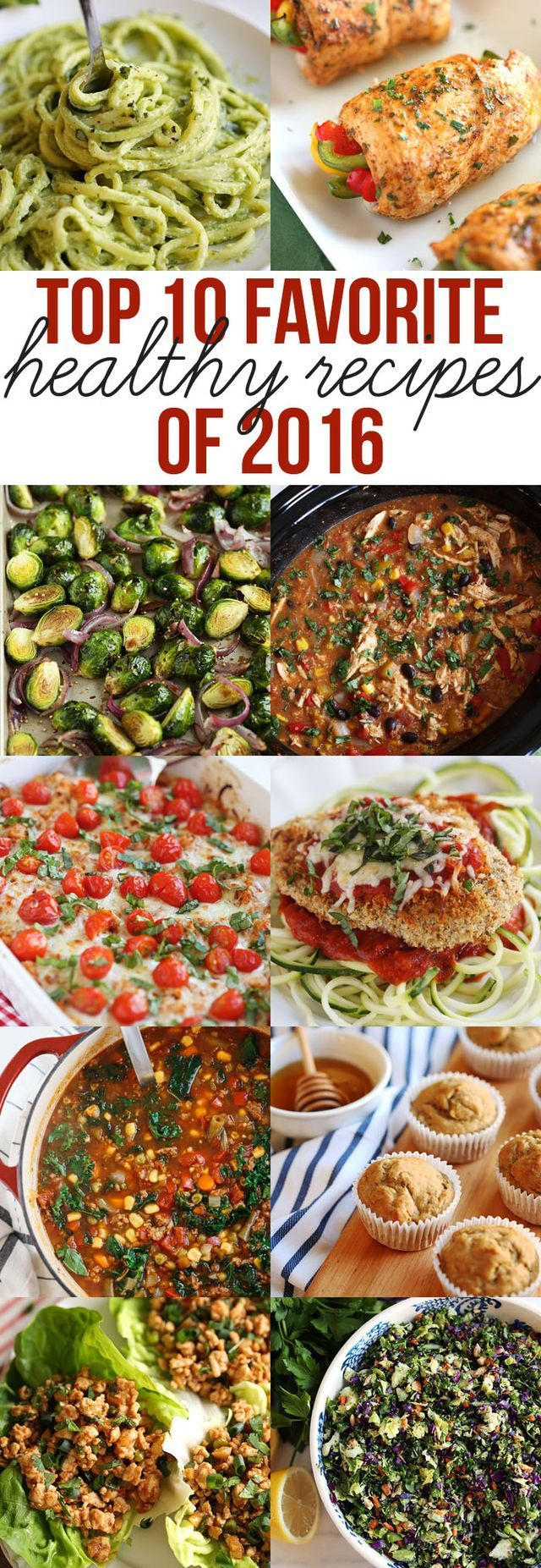 Check out the top 10 most popular healthy recipes featured on Eat Yourself Skinny in 2016 that are a MUST to try in the New Year! Can you believe 2016 is just about over?! Wow what an amazing year thi